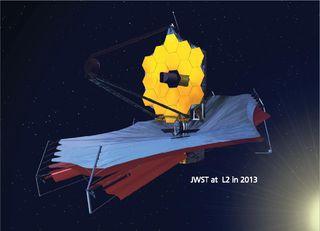 Le JWST doit en principe être lancé en 2013