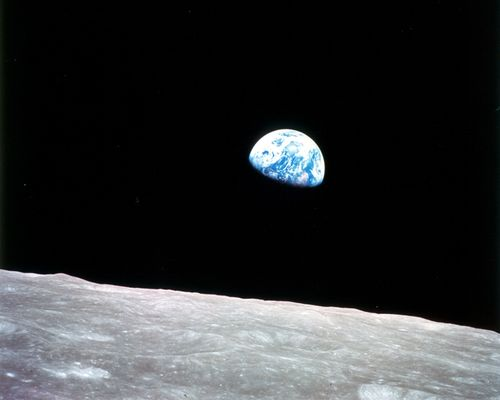 24 décembre 1968, premier lever de Terre pour Apollo 8