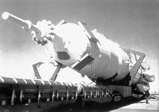 Fusée Proton équipé du vaisseau Zond