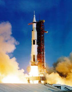 Lancement d'Apollo 11, le 16 juillet 1969